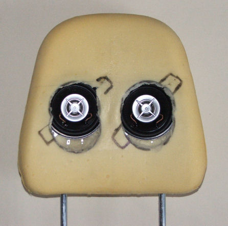 Et l'audio dans la cappuccino Headrest5